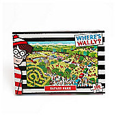 Wheres Wally kids puzzle Safari 100pc