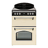 Leisure GRB6CVC, 600mm, Cream, Electric Cooker