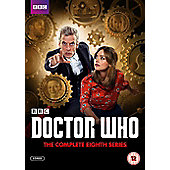 Doctor Who The Complete Series 8 Box Set DVD 5disc