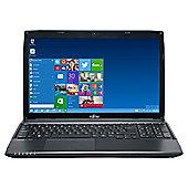 "Fujitsu Lifebook A514 15.6"" Laptop Intel Core i3 4005U 4GB RAM 500GB HDD"