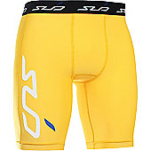Subsports Cold Thermal Shorts Junior - Yellow