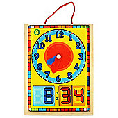 Bigjigs Toys BJ530 Clock in a Box