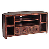 Indian Hub Mango Toko Corner TV Stand