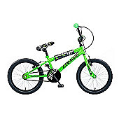 "Concept Zombie BMX 20"" Wheel, Single-Speed Neon Green"
