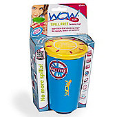 Wow Cup Spill Free Drinking Cup *BLUE*
