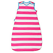 Grobag Baby Sleeping Bag - Magenta Ribbons 1.0 Tog (0-6 Months)