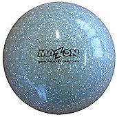 Mazon Glitter Hockey Balls - Silver x 12