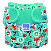 Bambino Mio Miosoft Reusable Nappy Cover - Size 2 (Woodland Fox)