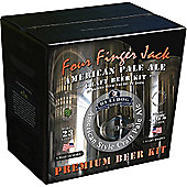 Bulldog Home brew beer kit - Four Finger Jack, American Pale Ale (4.6% abv) - 40 pints
