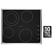 Hotpoint Newstyle Electric Hob, CRM641DX, Black