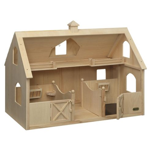 Deluxe Wood Barn
