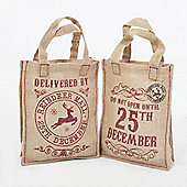 Christmas Tote Bags - Set of 2