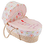 Lollipop Lane Upsy Daisy Moses Basket (includes toy)
