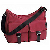 Lilizy Lifestyles Hobo Messenger Changing Bag Raspberry