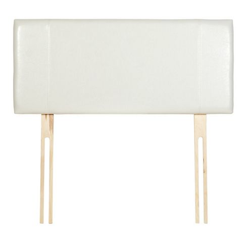 Home Essence Milano Panel Headboard - Double - Cream