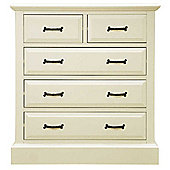 Ultimum Hambleton Off White 2 Over 3 Chest of Drawers