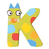 Tatiri Crazy Animals Letter K (Green Cat)