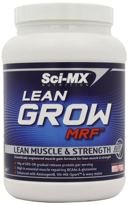 Sci-MX Lean Grow MRF 1kg - Strawberry