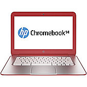 HP Chromebook (14 inch) Notebook PC Celeron (2955U) 14GHz 4GB 16GB SSD