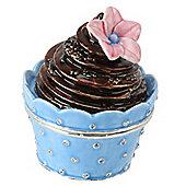 Mini Chocolate Swirl Cake Treasured Trinket Pot