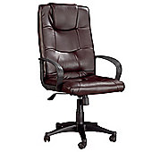 Hispanohogar Office Armchair - Brown