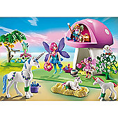 Playmobil 6055 Princess Fairies with Toadstool House