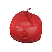 Ashcroft Classic Small Indoor Bean Bag - Red