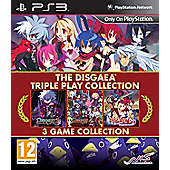 Disgaea Triple Play Collection (PS3 )