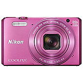 Nikon Coolpix S7000 Superzoom Digital Camera,  PINK