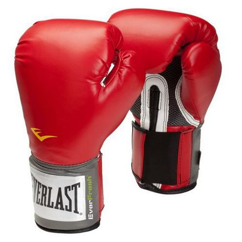 Everlast Pro Style Training Boxing Gloves Red - 16oz