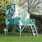 6ft x 6ft Wooden Command Post Tower Playhouse 6 x 6