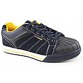 Urban Territory Mens Ground Work Gr424 Blue and Yellow Safety Shoes - Blue