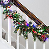 80 Multi Coloured Berry Indoor LED Fairy Lights