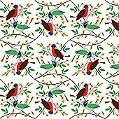 Charley Harper Wrap - Birds