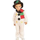 Child Cute Snowman Costume Small