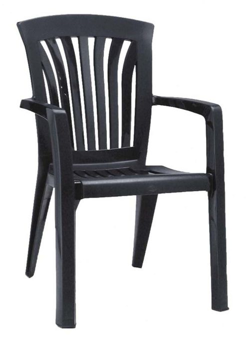 Nardi Diana Chair in Anthracite (Set of 2)