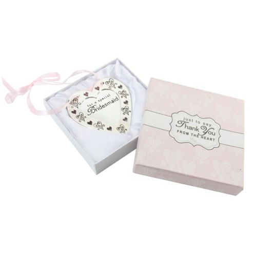 Wedding Gift List Tesco : ... Wedding Thank You Heart from our Ornaments & Figurines rangeTesco