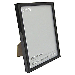 Tesco Basic Photo Frame Black 5 x 7""