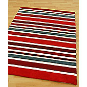Origin Red Rainbow Raspberry Rug - Runner 230cm x 80cm