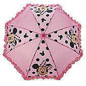 Disney Minnie Mouse 'Frilled' Nylon Umbrella