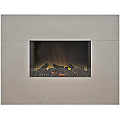Adam Nexus Grey Wall Hung Electric Fire