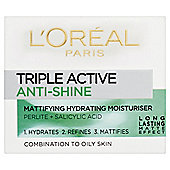 Loreal Triple Active Anti-Shine 50ml