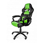 Arozzi Monza Gaming Chair Green High quality Thick padding on the arm wrists MONZA-GN