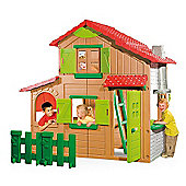 Smoby Floralie Duplex Playhouse