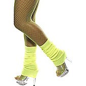 Leg Warmers Neon Yellow