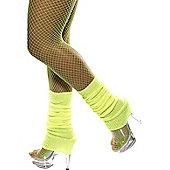 Leg Warmers Neon Yellow