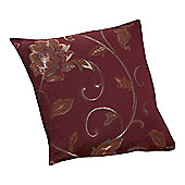 Dreams N Drapes Curtina Maybury Single Cushion Cover in Terracotta