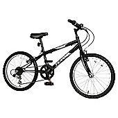 "Terrain Hallam 20"" Kids' Mountain Bike, Black"