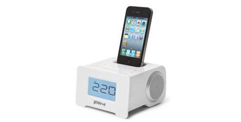 i-SpeakerDock-10 Speaker System with Clock Radio for iPod/iPhone.