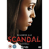 Scandal Season 1-3 Box set (DVD)